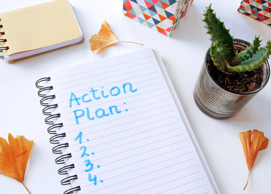 Action Brings Clarity to Your Plan